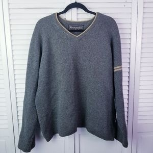 Abercrombie & Fitch Wool Long Sleeve Gray Sweater